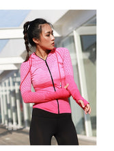 Load image into Gallery viewer, Women's Fit-B Front Zipper Hoodie - fitnessbudget