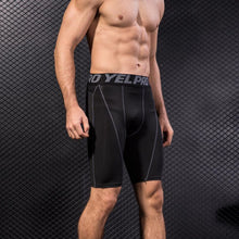 Load image into Gallery viewer, Men's Fit-B Compression Shorts - fitnessbudget