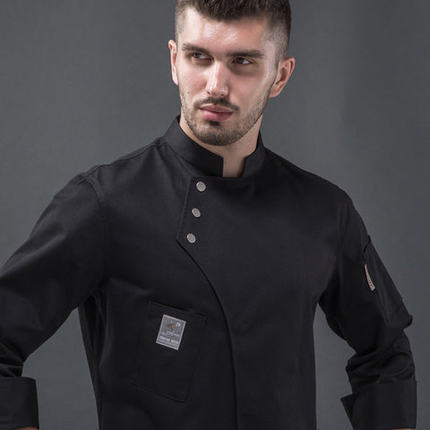 long slevee new style chef uniform - Chef way