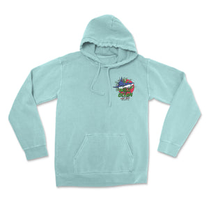 Youth Bite Me Hoodie (Mint)