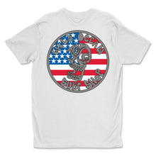 Load image into Gallery viewer, USA Skull T-Shirt