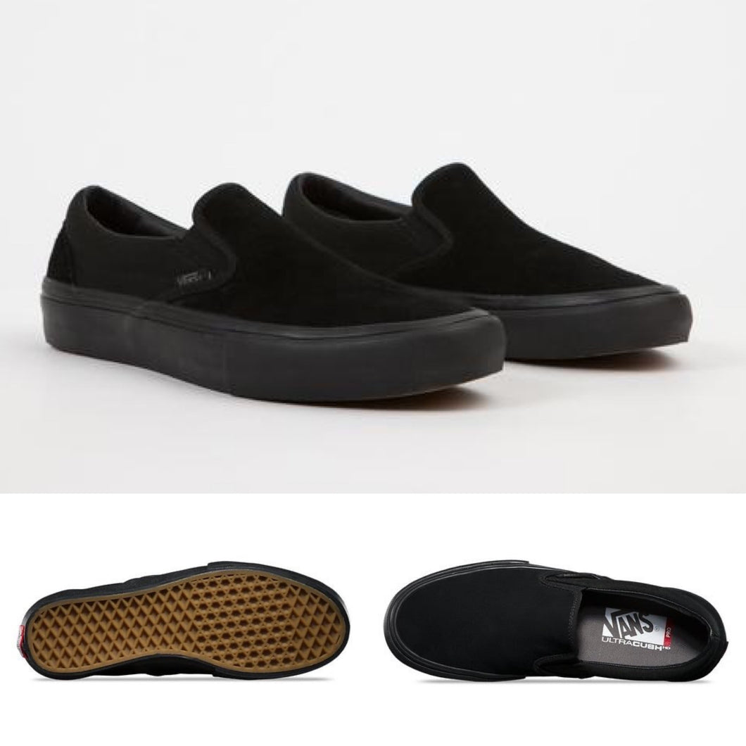 Vans Slip On Pro - Blackout