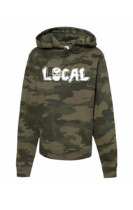 Youth Local Mask Hoody (Camo)