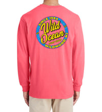 Load image into Gallery viewer, Neon Long Sleeve T-Shirt (Coral)