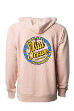 Load image into Gallery viewer, Neon Terry Hooded Sweatshirt (Rose)