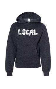 Youth Local Mask Hoody (Charcoal)