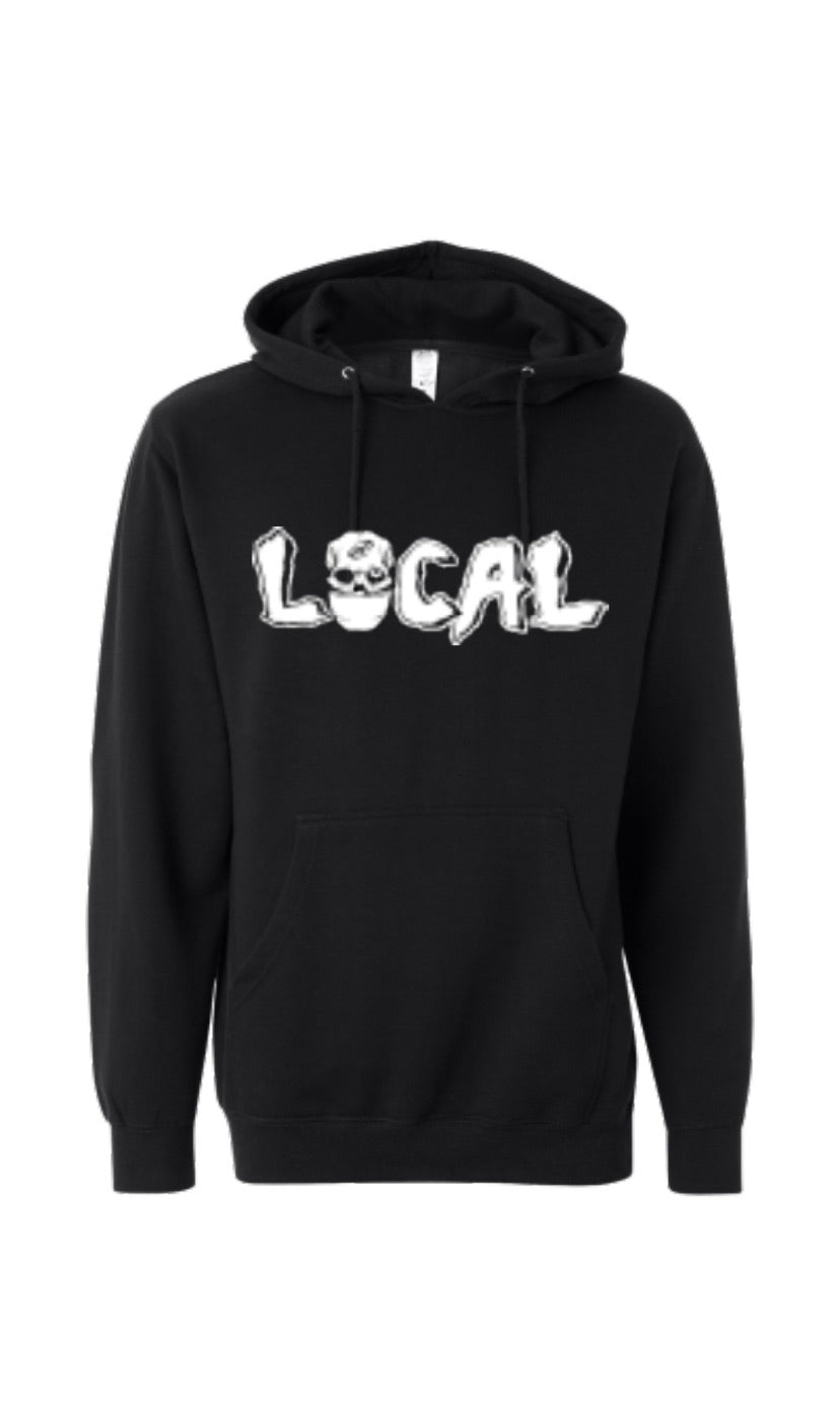 Local Mask Hoody (Black)