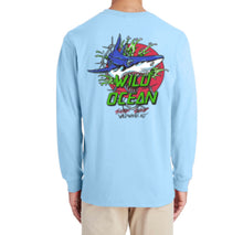 Load image into Gallery viewer, Bite Me Long Sleeve T-Shirt (Chambray)