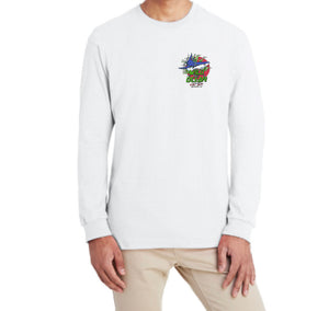 Bite Me Long Sleeve T-Shirt (White)