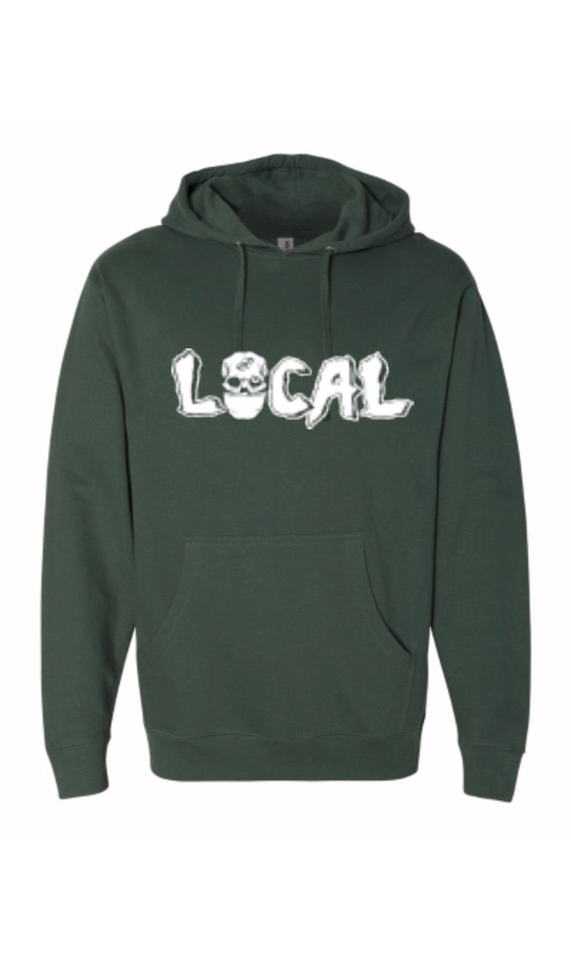 Local Mask Hoody (Alpine Green)