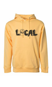 Local Mask Hoody (Peach)