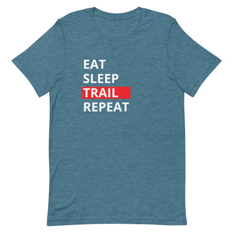 T-Shirt Eat Sleep Trail Repeat