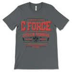 Chuck Norris Punched The Earth T-Shirt - Dark Grey