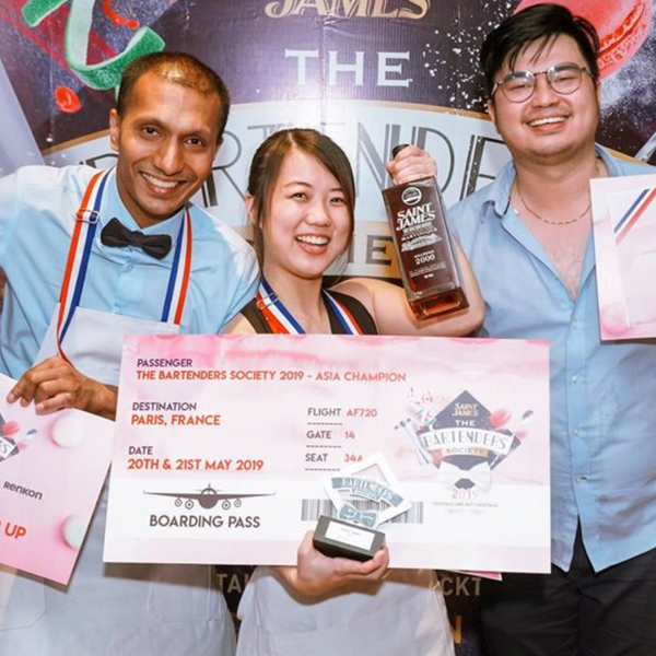 [FOR TRADE PROFESSIONALS] Saint James - The Bartenders Society Competition ASIA 2019