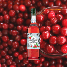 Load image into Gallery viewer, Giffard Syrup Cranberry