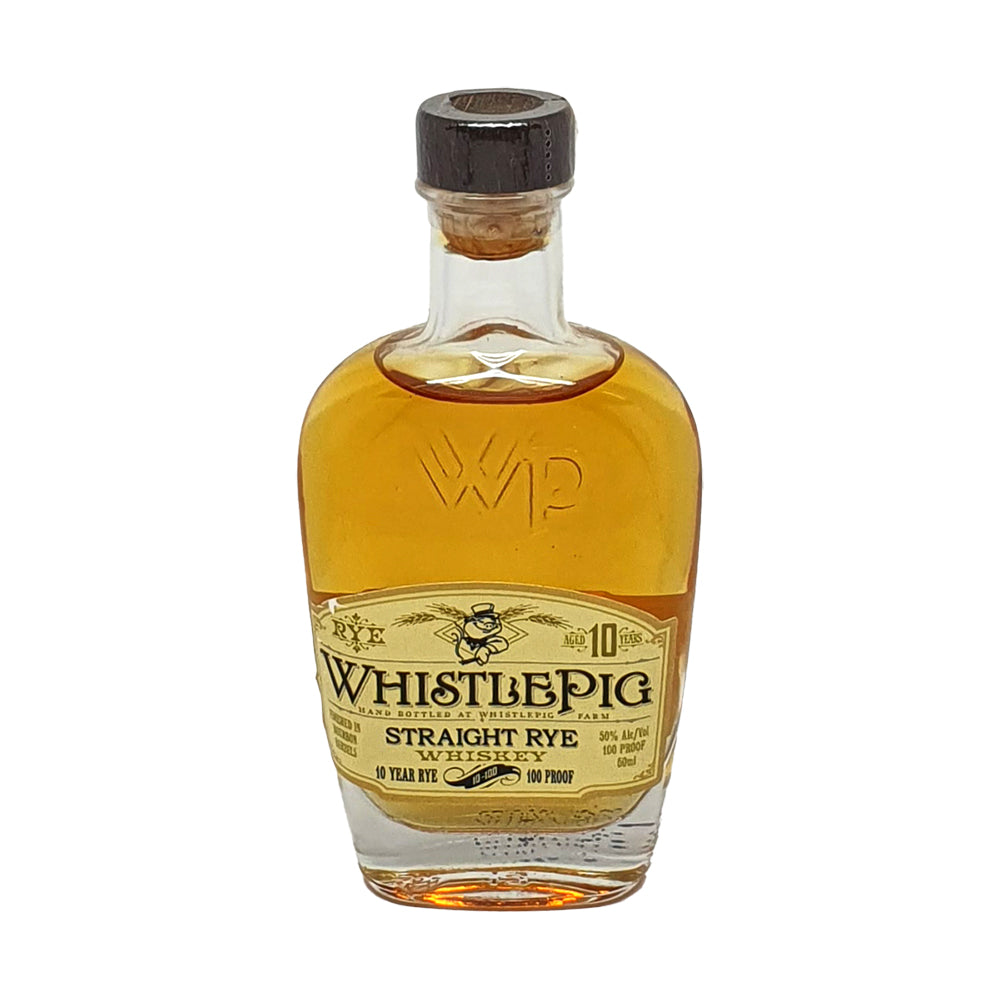 WhistlePig 10 Year Rye Whisky Miniature