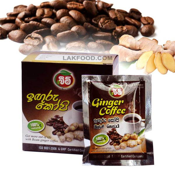 Beam Ginger Coffee - 10 Coffee Bags (ඉඟුරු කෝපි)