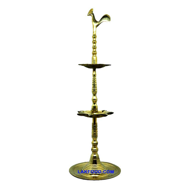 2 Ft. Brass Lamp