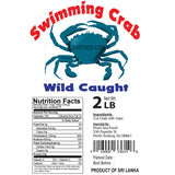 Wild Caught Crab 2-Lb **