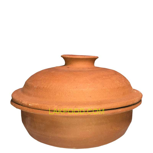 "Clay Pot with Lid 12"" / 11"" / 10"""