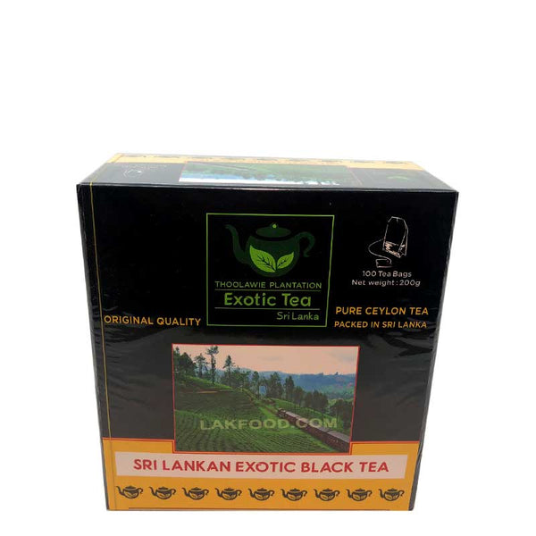 Ceylon Black Tea 100 Bags
