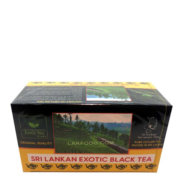 Ceylon Black Tea 50 Bags