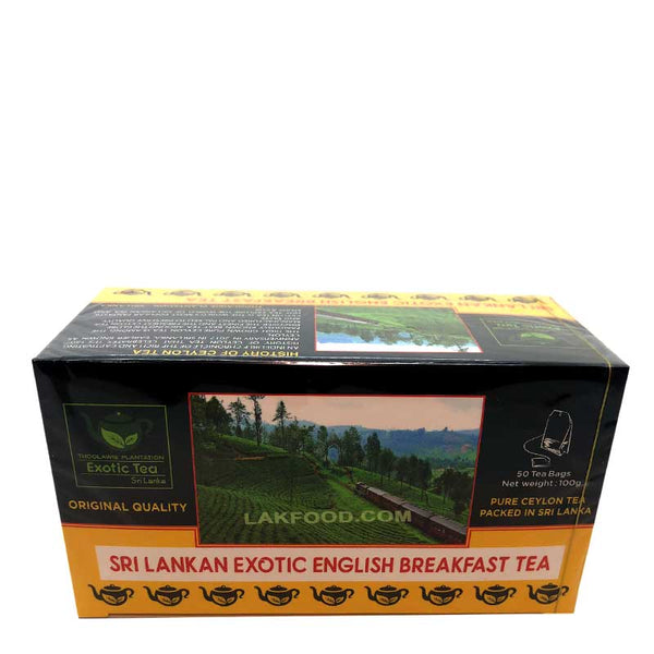 Ceylon English Breakfast Tea 50 Bags