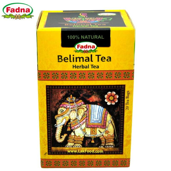 Fadna - Belimal Herbal Tea - 20 Tea Bags (බෙලිමල් තේ)