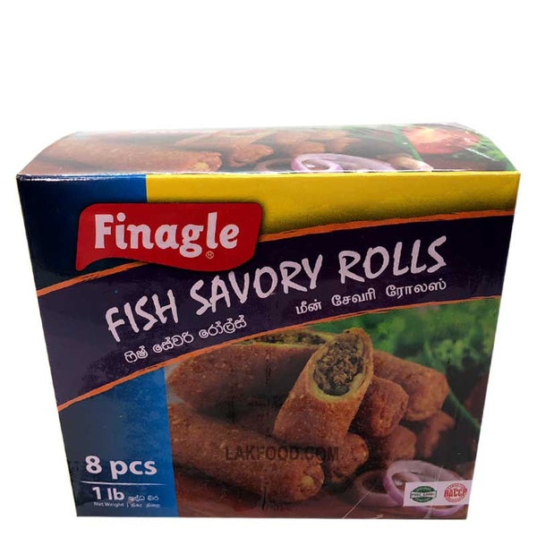 Finagle Fish Savory Roll  8-Pcs **