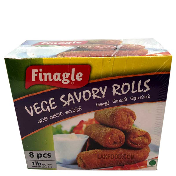 Finagle Vegetable Savory Roll  8-Pcs **