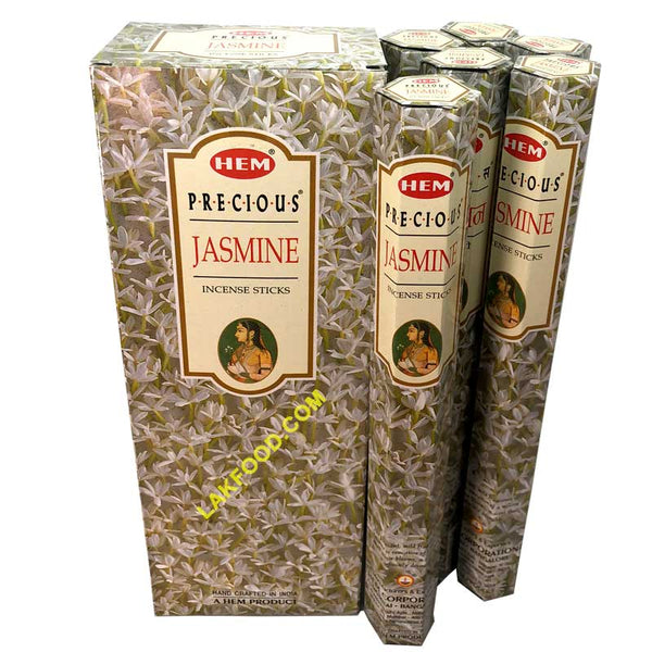 Hem Incense Sticks - Jasmin - 6-Packs Box