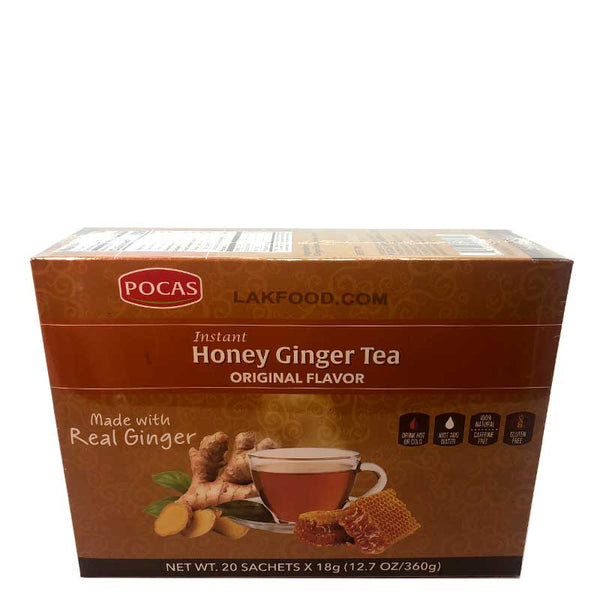 Honey Ginger Tea 20-packs