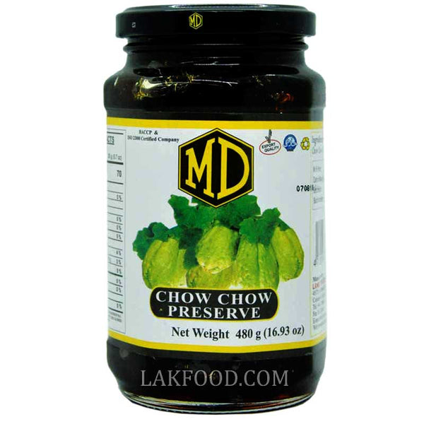 MD Chow Chow Preserve 490g