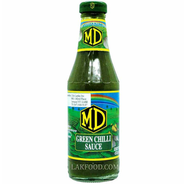 MD Green Chilli Sauce 400ml