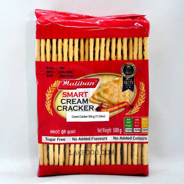 Maliban Cream Cracker 500g