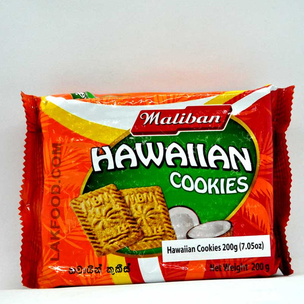 Maliban Hawaiian Cookies 200g