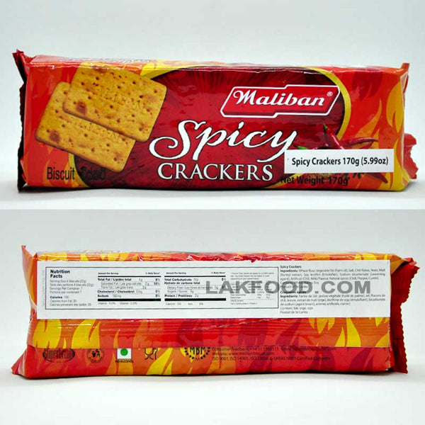Maliban Spicy Cracker 170g