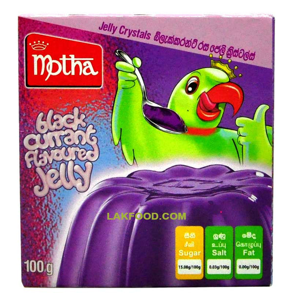 Motha Black Current Flavored Jelly 100g