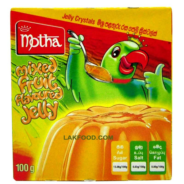 Motha Mixed Fruit Flavored Jelly 100g