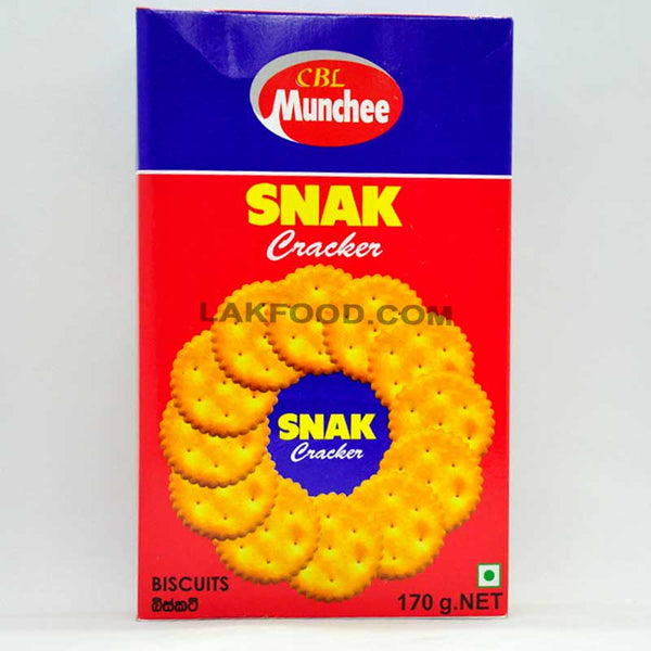 Munchee Snak Cracker 170g
