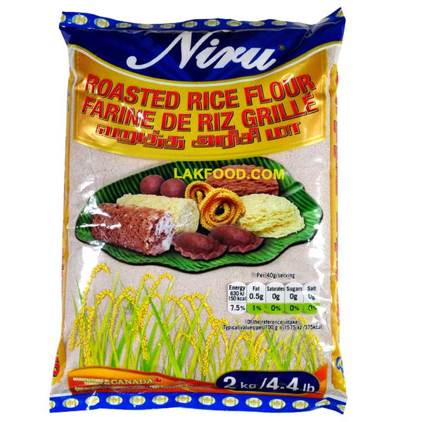 Niru Roasted Rice Flour 2KG / 4.4LB