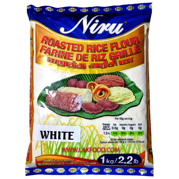 Niru Roasted White Rice Flour 1KG / 2.2LB
