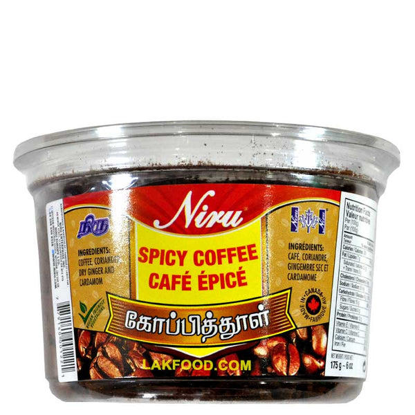 Niru Spicy Coffee 175G / 6OZ
