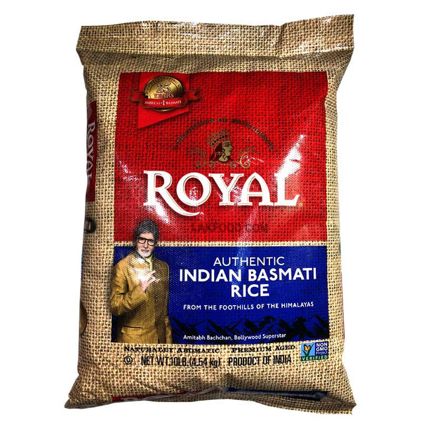 Royal Basmathi Rice 10LB