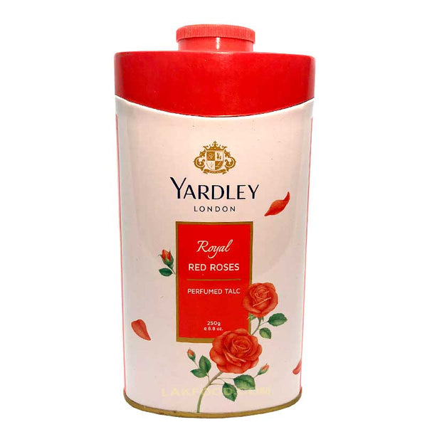 Yardley (London) Perfumed Talc 250g - Red Roses