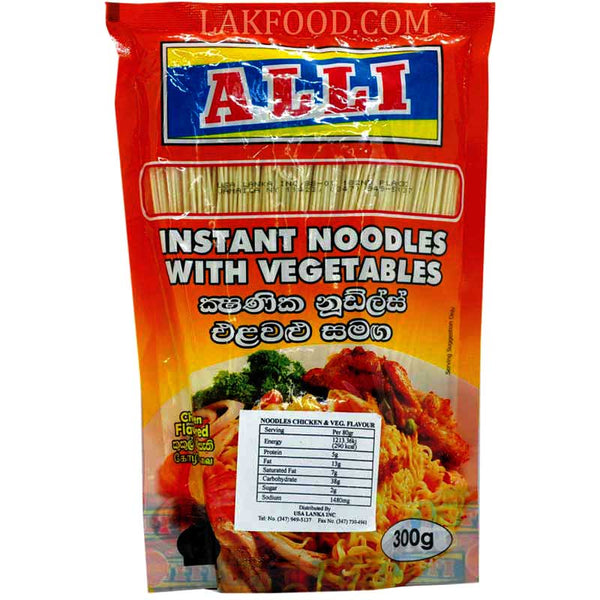 Alli Instant Noodles with Vegetables 300g