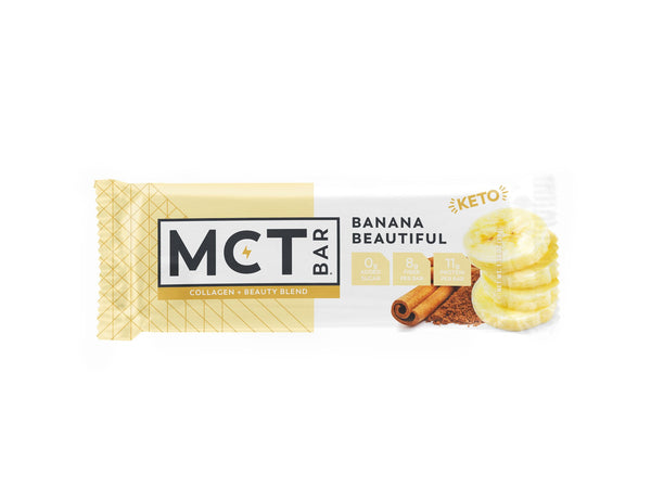 MCT Bar | Banana Beautiful, 1.34oz | 12-Pack