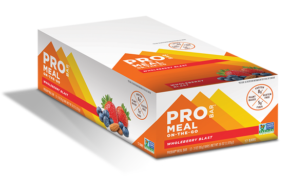ProBar | Wholeberry Blast Meal Bar, 3oz | 12-Pack