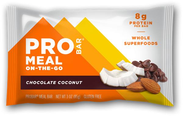 ProBar | Chocolate Coconut Meal Bar, 3oz | 12-Pack