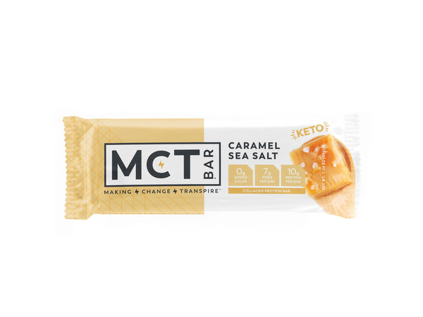 MCT Bar | Caramel Sea Salt, 1.34oz | 12-Pack
